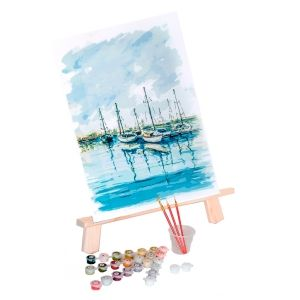 Painting by numbers 30x40cm - Seascape ME1084e