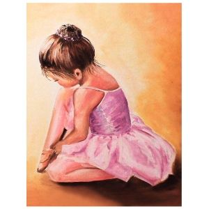 Painting by numbers 40x50cm - Ballerina baby MG2055e