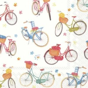 Decoupage napkins 33x33cm, 20 pcs. - BICYCLE L807500