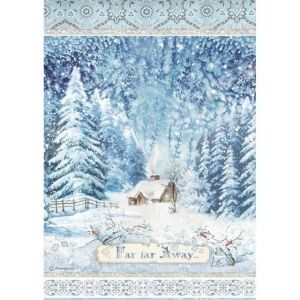 Decoupage Rice Paper A4 - Far far away DFSA4491