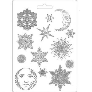 Soft Moulds A4 - Snowflakes K3PTA473