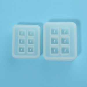 Silicone molds Cubes, 2 pieces, IPSFER-C