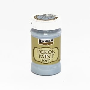 Dekor paint soft 100 ml - ice blue P21636