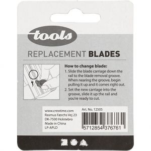 Trimmer replacement cutting & scoring blades 2 pcs - C12505