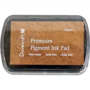 Premium Pigment Ink Pad Dovecraft - copper DCIP04