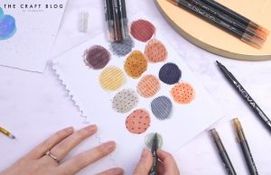 Dual-Tip Watercolour Markers 10pcs  – Neutrals NOV015