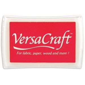 Ink pad VersaCraft BIG - Poppy Red P26432