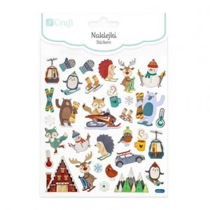 Stickers 32 pcs - STICKERS - Winter Sports  DPNK-113