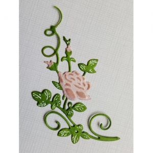 Cut-emboss die - Cut-emboss-debossdie - Beautiful Rose 6002-1502