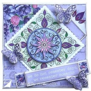 Clear Stamp - Clearstamps - Gerti- zentangle 6410-0527
