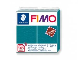 FIMO Leather modelling clay 57g - turquoise - G8010369