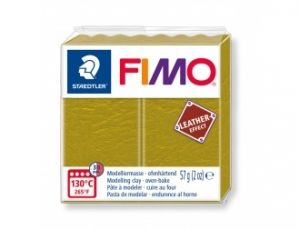 FIMO Leather modelling clay 57g - olive - G8010519