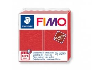 FIMO Leather modelling clay 57g - light red - G8010249