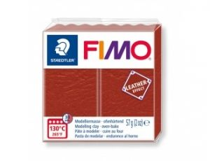 FIMO Leather modelling clay 57g - red - G8010749