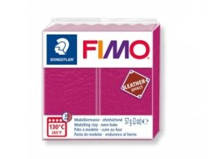 FIMO Leather modelling clay 57g - pink - G8010229