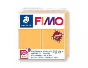 FIMO Leather modelling clay 57g - yellow -  G8010109