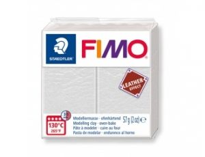 FIMO Leather modelling clay 57g - ivory - G8010029