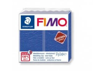 FIMO Leather modelling clay 57g - indigo - G8010309