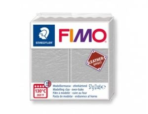 FIMO Leather modelling clay 57g - dove gray - G8010809