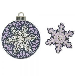 Sizzix Thinlits Die Set 6PK - Layered Snowflake 664584