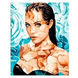 Painting by numbers 40x50cm - Angelina MG2107e