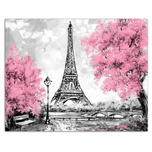 Painting by numbers 40x50cm - Eiffel Tower in Paris MG2166e