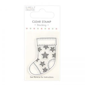 Clear stamp - Stocking SCSTP032X20