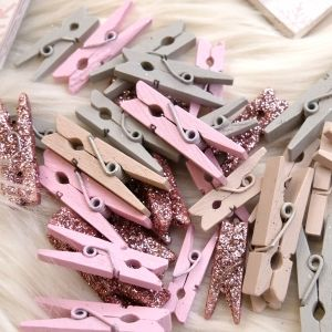 Printed Pegs - Winter Sparkle DCWDN112X20