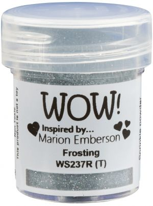 Embossing powder 15ml - Frosting WS237R