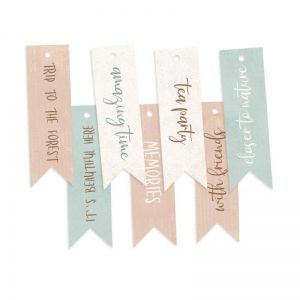 Tags 9 pcs - Forest tea party 02 P13-FOR-22