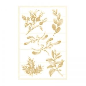 Light chipboard embelishments - The Four Seasons - Winter 03, 6pcs P13-WIN-45