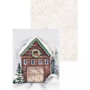"Paper Pad 6""x8"" - Winter, 6x8"" P13-WIN-10"