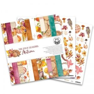 "Paper Pad 12""x12"" - The Four Seasons - Autumn, 12x12"" P13-AUT-08"