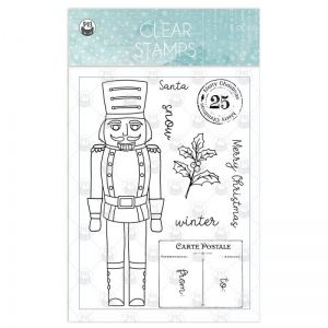 Clear stamp set The Four Seasons - Winter 01 , 11 pcs P13-WIN-30