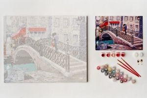 Painting by numbers 40x50cm -  City Bridge MG2205e