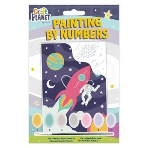 Mini Paint By Numbers Kit - Craft Planet - Space CPT-658704