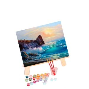 Painting by numbers 40x50cm -  Coastal Landscape MG2169e