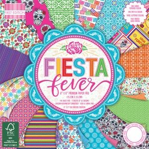 First Edition 15.2x15.2cm Paper Pad - Fiesta Fever FEPAD193