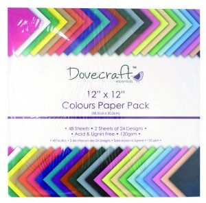 Dovecraft Colour Value 12x12 Paper Pack DCDP59