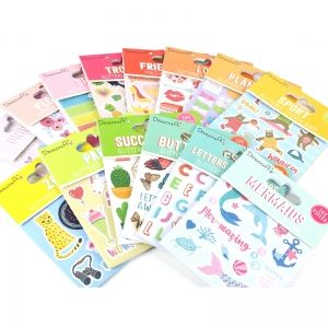 Sticker Book - Alphabet DCSTB003