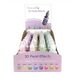 Pearl Effect pen 20ml - Clear DCBS91-1