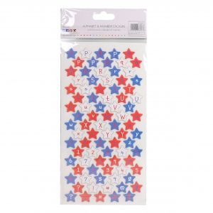 Stickers - Chipboard Stars SCSTK001