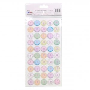 Stickers - Chipboard Circles SCSTK004