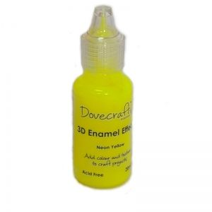3D Contour Enamel Effects  20 ml.-  Neon Yellow DCBS99-1