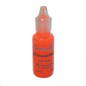 3D Contour Enamel Effects  20 ml.- Neon Orange DCBS99-3