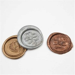 Wax Seals - Gold, Silver, Bronze C27026