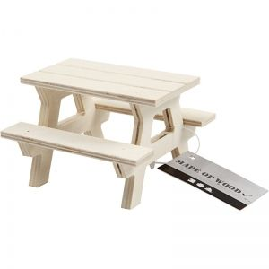 Wooden figurine - Picnic Bench, 1 pc. C56927