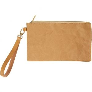 Faux Leather Clutch Bag, 18x21 cm C49893