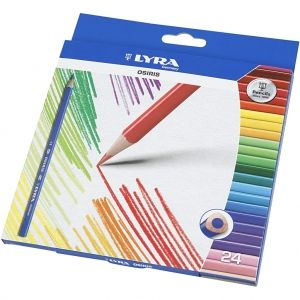 Colouring Pencils, LYRA Professional set 24 pc - C38336