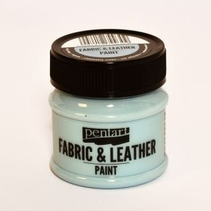 Fabric and leather paint 50ml - sky blue P34815